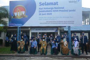Pemprov Jambi Dukung Program BKKBN Tingkatkan Kualitas Keluarga