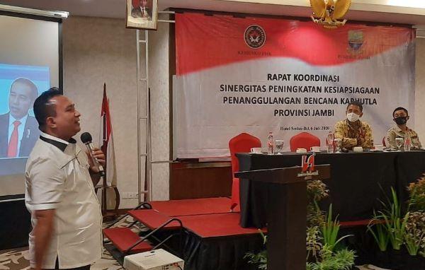 Ditreskrimsus Polda Jambi Kombes Pol Edi Faryadi menerangkan tentang Asap Digital.
