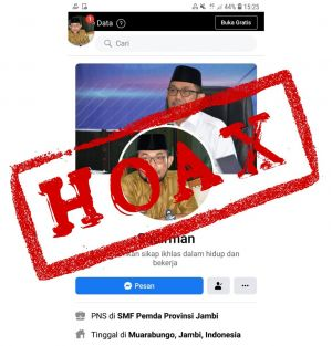 Johansyah: Pj.Sekda Sudirman Tidak Memiliki Akun Facebook