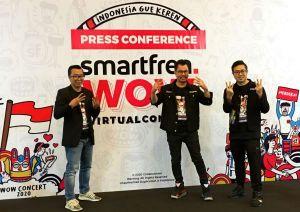 Jelang Perayaan Kemerdekaan, Smartfren Hadirkan Konser Virtual Interaktif dari 3 Negara