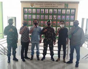 Pengurus Provinsi FONI Jambi Audiensi dengan Danrem 042/Gapu