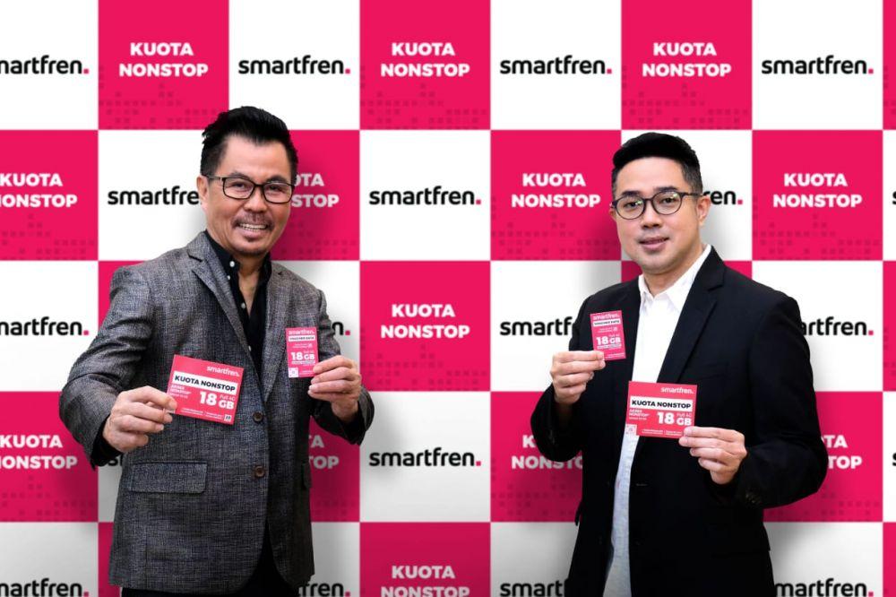 Smartfren Hadirkan Keseruan Berinternet Maksimal Lewat Kuota Nonstop Bagi Generasi Konten
