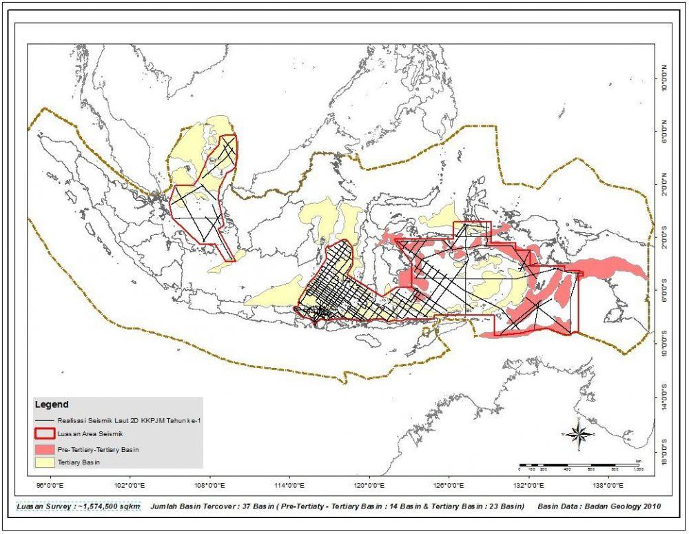 Membanggakan! Indonesia Berhasil Selesaikan Survey Seismik 2D Terpanjang di Asia Pasifik