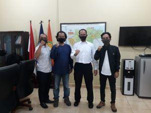 Terima Audiensi FONI Jambi, Ibnu Harris Bersedia Jadi Dewan Penasehat
