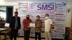 Rakerda I SMSI Provinsi Jambi Resmi Dibuka Gubernur