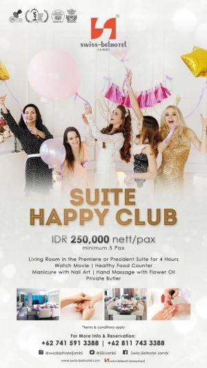 Manjakan Kaum Hawa, Swiss-Belhotel Luncurkan Happy Suite Club