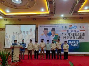 Madel Ketua, Ini Struktur Tim Pemenangan Provinsi Haris-Sani