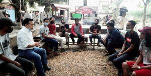 Al Haris ke Kedai Menapo Candi Muaro Jambi, Ini Harapan Kalangan Milenial
