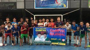 Putra Al Haris Ikuti Fun Futsal GeMPAL Bersama Milenial Kota Jambi