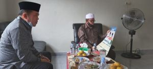 Sambangi Kediaman Pimpinan Ponpes Al-Ikhlas Bungo, Al Haris Minta Doa Terbaik