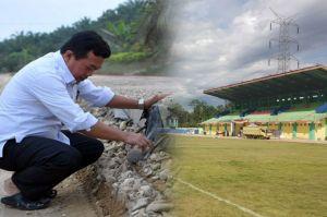 Infrastruktur di Masa Bupati Al Haris, dari Stadion Hingga Jalan Rigid Beton