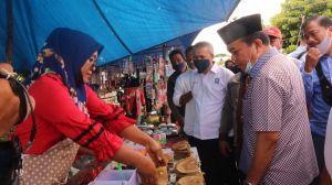 Blusukan ke Pasar Selat, Haris Teringat Masa Lalu Menjual Martabak