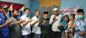 Bersama Mahrup Ketua DPRD Tanjab Timur, Al Haris Sambangi Warga Mandahara Ulu