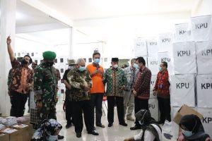 Pastikan Kesiapan Pilkada, Danrem bersama Pjs. Gubernur Jambi Cek Logistik