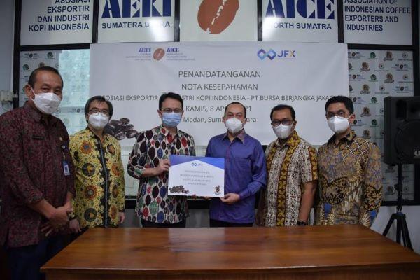 Dorong Sosialisasi dan Edukasi Perdagangan Berjangka Kopi, Kemendag Dukung Kolaborasi JFX dan AEKI