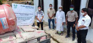 Asian Agri Bantu Percepatan Pembangunan Masjid Di Desa Lubuk Bernai