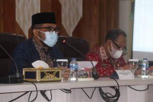 Sekda Pimpin Rapat Persiapan Penyambutan Gubernur dan Wagub Jambi Terpilih