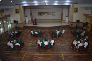 Korem 042/Gapu Gelar Komsos Bersama Aparat Pemerintah