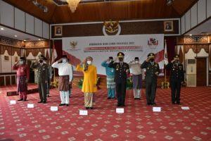 Pj. Gubernur Jambi Ikuti Upacara Peringatan Hari Lahir Pancasila Secara Virtual
