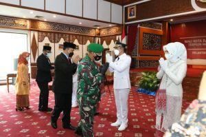 Danrem 042 Gapu Hadiri Pelantikan Wali Kota dan Wakil Wali Kota Sungaipenuh
