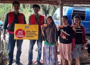 Warga Desa Arang-arang Lancar Internetan dengan Signal 4G Plus Kuat IM3 Ooredoo