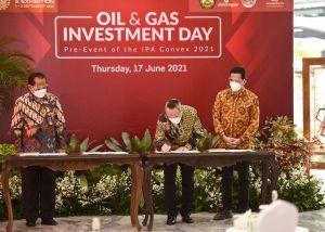PetroChina International Jabung Ltd. Tandatangani Nota Kesepahaman Jual Beli Gas