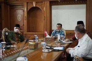 Gubernur Alharis Tegaskan Semua Pihak Harus Siap Hadapi dan Antisipasi Covid-19