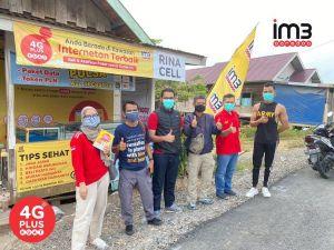 Warga Tahtul Yaman dan Tanjung Pasir Makin Lancar Internetan dengan Signal 4G Plus Kuat IM3 Ooredoo
