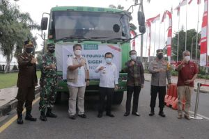 Asian Agri Bersama Tanoto Foundation Donasikan 24 Ton Oksigen untuk Pasien Covid-19