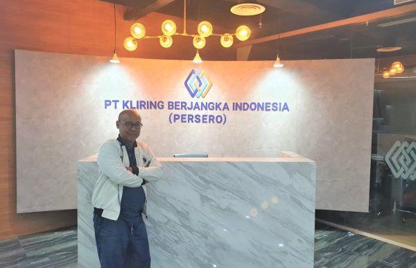 Direktur Utama PT. Kliring Berjangka Indonesia (Persero), Fajar Wibhiyadi.