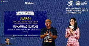 Jurnalis Onlinejambi.com Juara 1 Lomba Karya Jurnalistik KBI