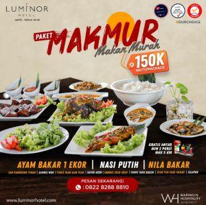 Dapatkan Paket Makmur di Hotel Luminor Jambi