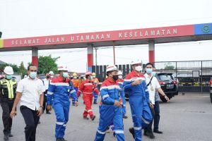 Pastikan Layanan Optimal, Komut Pertamina Kunjungi PT Pertamina Patra Niaga Region Sumbagsel