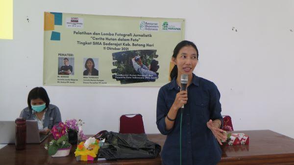 PFI Jambi – Hutan Harapan Gelar Lomba Foto Jurnalistik untuk Pelajar SLTA se-Batanghari