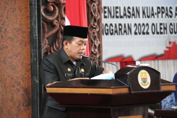 Gubernur Nyatakan 2022 Tahun Pertama Penerapan Dumisake